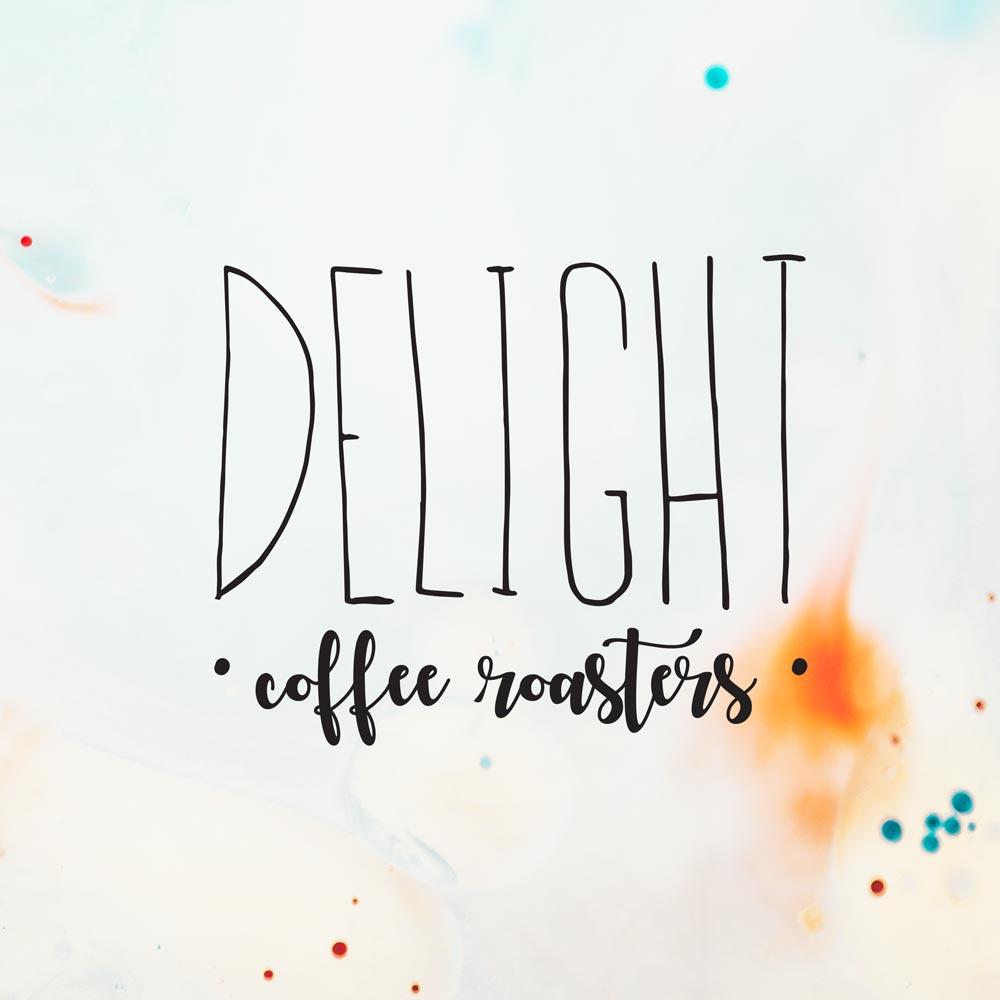 Delight Coffee Roasters Branding