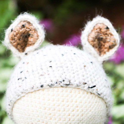 crochet doll head